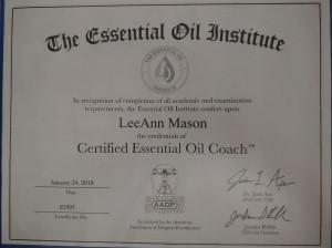 AADP Certifications LeeAnn Mason