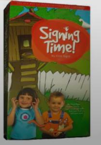 Original Signing Time VHS