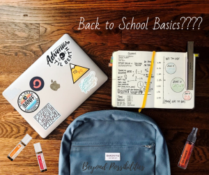 Back to School Basics????
